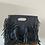 Thumbnail: Mini Seville Navy Leather  Crossbody Bag - Jijou Capri