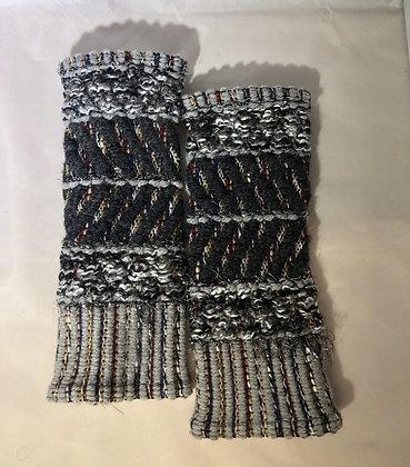 Woven Fingerless Gloves : 200585 Col 6 - Jijou Capri