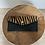Thumbnail: Brown Zebra Wallet Bobo Pony leather - Jijou Capri