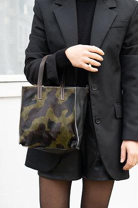 Army Gerard Pony Leather Handbag - Jijou Capri