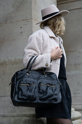 Kate leather Handbag - Jijou Capri