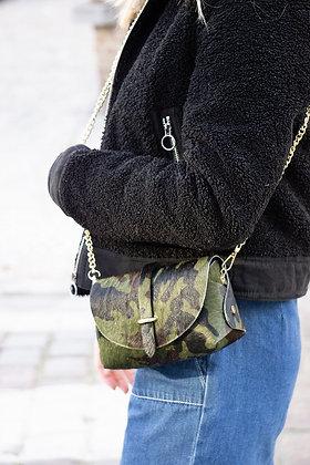 Lily Pony Army Leather Crossbody bag - Jijou Capri