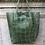 Thumbnail: Olive Croco Embossed Tote Bag - Jijou Capri