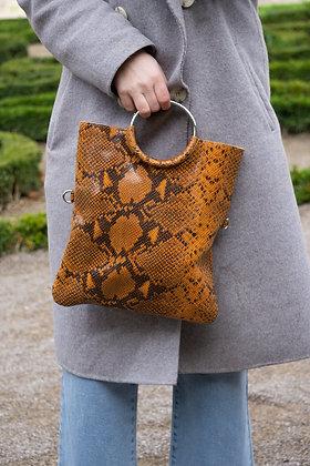 Twiggy Coral Snake Leather Handbag - Jijou Capri