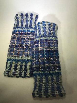 Woven Fingerless Gloves : 190563 Col 1 - Jijou Capri