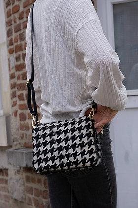 Elvira Spot Pony Leather Crossbody bag - Jijou Capri