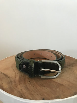 Belt Pony Camo Leather - Jijou Capri