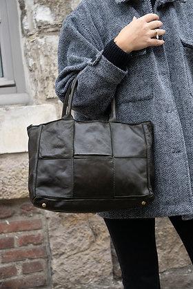 Olive Evangeline Vintage leather handbag - Jijou Capri