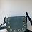 Thumbnail: Basilea Turquoise suede leather Crossbody Bag - Jijou Capri