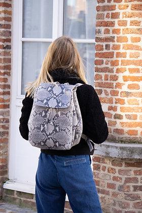 Zaino Snake Leather Backpack - Jijou Capri