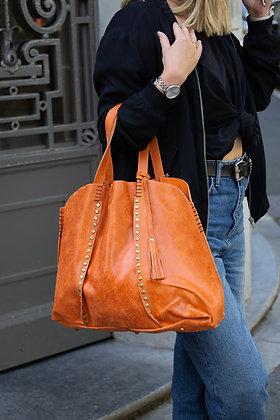 Vintage Orange Courmayeur  Handbag - Jijou Capri