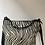 Thumbnail: Black Zebra Zaino Futura Pony leather handbag- Jijou Capri