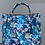 Thumbnail: Flowers Pompom Leather Handbag
