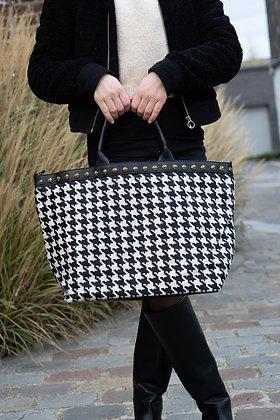 Black Spot Minos Pony Leather Handbag - Jijou Capri