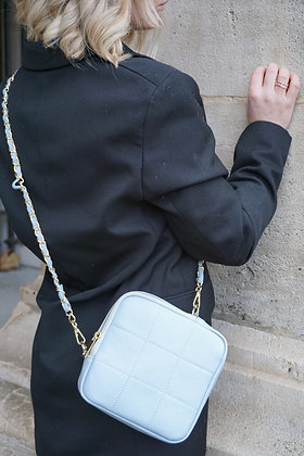Baby Blue Stella Crossbody bag - Jijou Capri