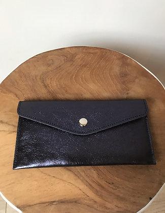 Wallet Bobo Metallic Midnight Blue - Jijou Capri