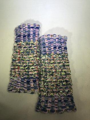 Woven Fingerless Gloves : 190562 Col 5 - Jijou Capri
