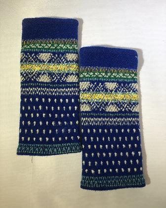 Woven Fingerless Gloves : 200001 Col 8 - Jijou Capri