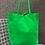 Thumbnail: Green Neon Leather Tote - Jijou Capri
