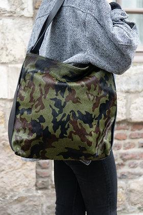 Army Zaino Futura Pony leather handbag- Jijou Capri