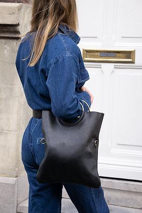 Twiggy Grained Leather Handbag