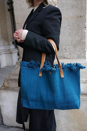 Blue Manlya Tote Bag - Jijou Capri