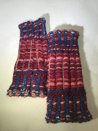 Woven Fingerless Gloves : 190563 Col 7 - Jijou Capri