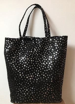 Black Cosmic Tote Bag - Jijou Capri