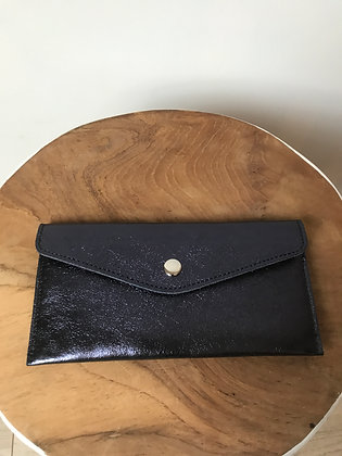 Wallet Bobo Metallic Midnight Blue - Jijou Capri