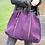Thumbnail: Purple Courmayeur Suede Handbag - Jijou Capri
