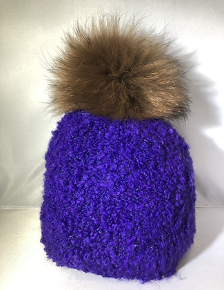 Beanie JJ84 Purple  - Jijou Capri