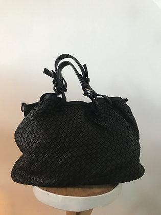Patricia Black Vintage Leather Handbag - Jijou Capri