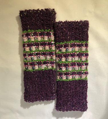 Woven Fingerless Gloves : 200581 Col 3 - Jijou Capri