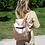 Thumbnail: Metallic Leather Backpack