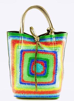 Mini Crochet Tote Bag