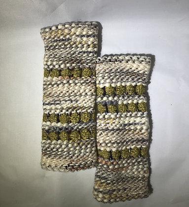 Woven Fingerless Gloves : 200584 Col 7 - Jijou Capri