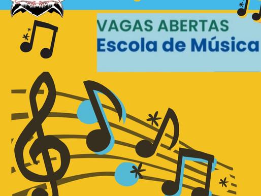 Escola de Música encerra inscrições no dia 17