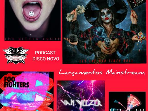 Podcast Disco Novo: bandas mainstream e seus lançamentos de arrasar