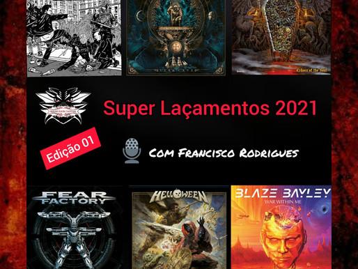 PODCAST DISCO NOVO EP.02: Grandes novidades do Metal em 2021