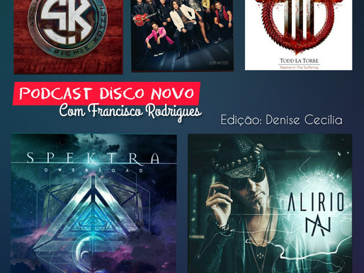 Do hard rock ao heavy metal: lançamentos de artistas brasileiros e internacionais