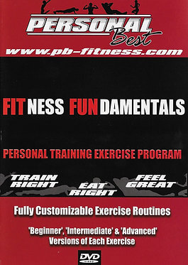Fitness Fundamentals Personal Training Exercise Program - Digital Download