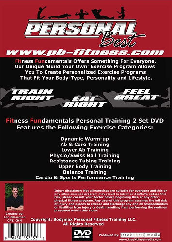 Fitness Fundamentals DVD Cover - Back.jp