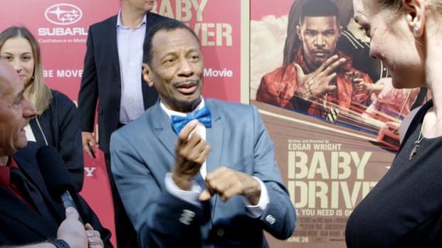 CJ Jones in Baby Driver