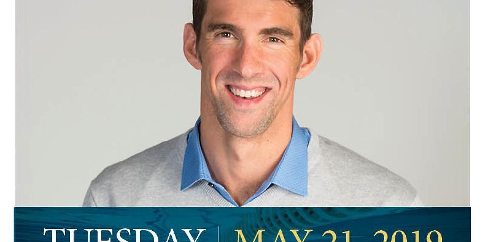 Michael Phelps Award event