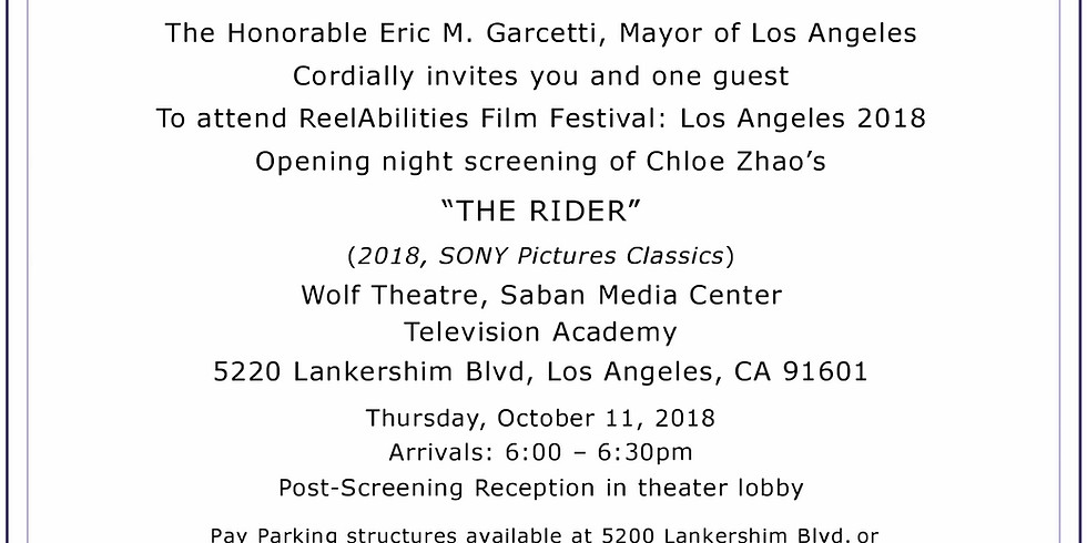 ReelAbilities Film Festival: Los Angeles 2018