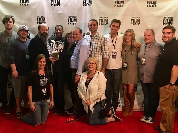 CJ Jones at the Fayetteville Film Festival