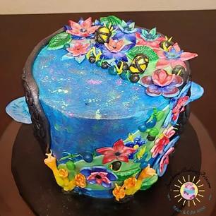 Pandora World of Avatar cake