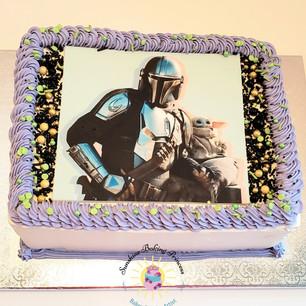Mandalorian cake