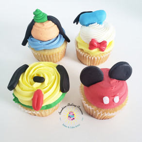 Mickey's Clubhouse Cupcakes