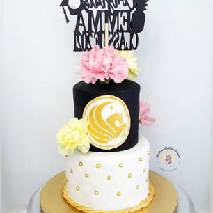 University of Central Florida graduation cake